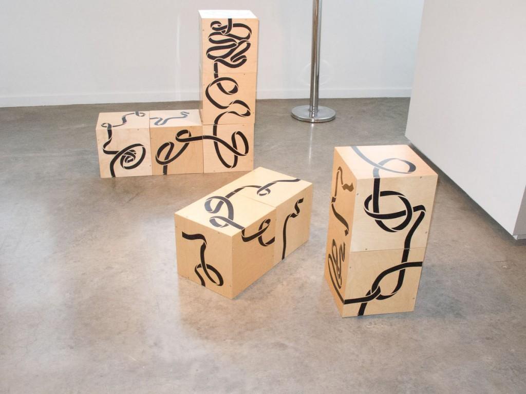 "Zoe Keramea's ""Nine Blocks"" at the MCA Photograph courtesy of the artist & Krzysztof Osinski for Exhibition Footnotes"