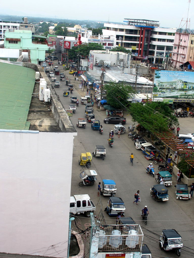 Main street of Puerto Princesa CBD